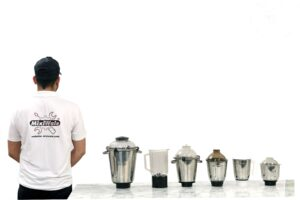 How should you maintain your Mixer Grinder JARS.
